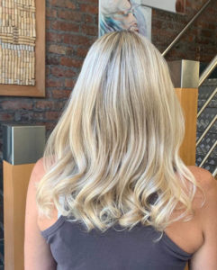 highlights at anthony james hair salon in halifax