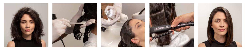 KeraStraight hair straightening at top hair smoothing salon in halifax