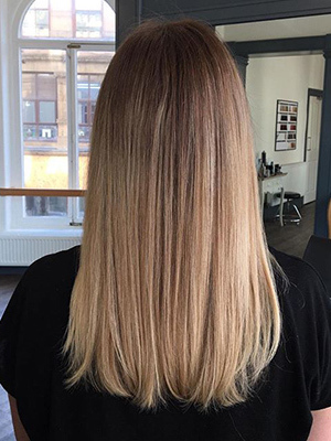 Balayage Hair  Colour at Anthony James Hairdressing Salon in Halifax