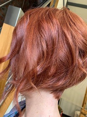 Mid-length hairstyles at Anthony James Hair Salon in Halifax